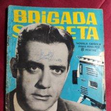 Tebeos: BRIGADA SECRETA. Nº 67. MISTERIO EN LA T.V. EDICIONES TORAY. 1964. Lote 222847081