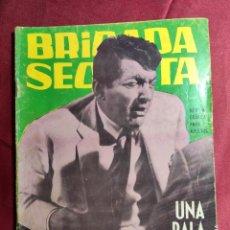 Tebeos: BRIGADA SECRETA. Nº 75. UNA BALA PERDIDA. EDICIONES TORAY. 1964. Lote 222847483
