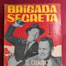 Tebeos: BRIGADA SECRETA. Nº 76. EL CRIMEN SE OCULTA EN LA SOMBRAA. EDICIONES TORAY. 1964. Lote 222847727