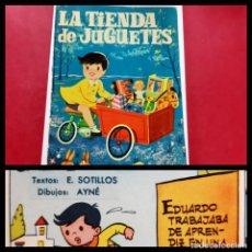Tebeos: LA TIENDA DE JUGUETES-E.SOTILLOS-AYNE-1961 -TORAY. Lote 222871122
