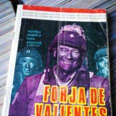 Tebeos: RELATOS DE GUERRA- FORJA DE VALIENTES, EDICIONES TORAY.. Lote 222878937