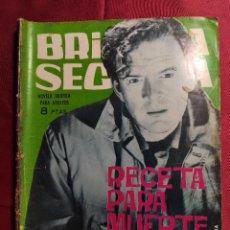 Tebeos: BRIGADA SECRETA. Nº 86. RECETA PARA MUERTE LENTA. EDICIONES TORAY. 1965. Lote 222903031