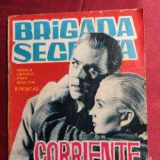 Tebeos: BRIGADA SECRETA. Nº 105. CORRIENTE MORTA . EDICIONES TORAY. 1965. Lote 222943757