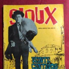 Tebeos: SIOUX . Nº 21. VEINTE CENTAVOS DE HOJALATA . EDICIONES TORAY. 1965. Lote 222945305