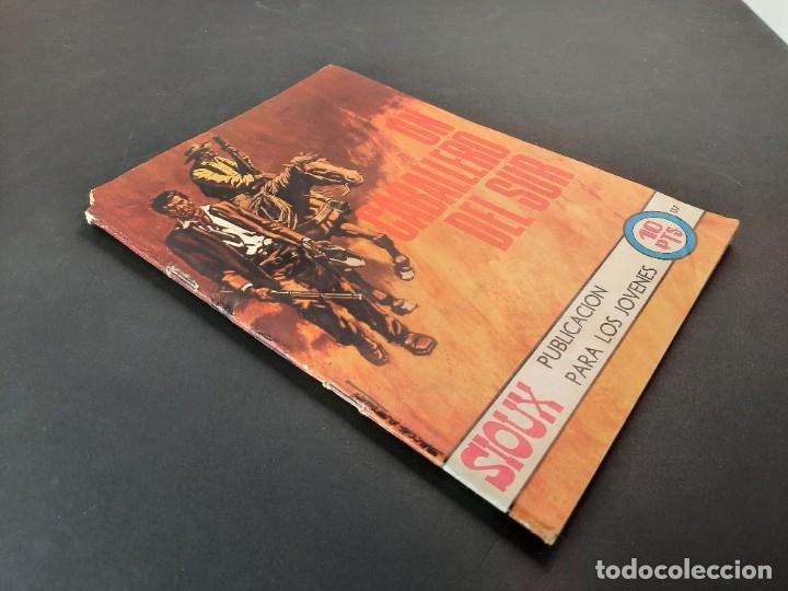 Tebeos: SIOUX (1964, TORAY) 157 · 24-IV-1970 · UN CABALLERO DEL SUR - Foto 2 - 222990327