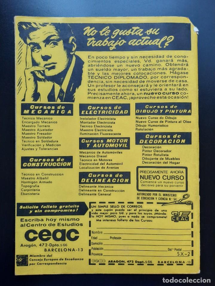Tebeos: SIOUX (1964, TORAY) 157 · 24-IV-1970 · UN CABALLERO DEL SUR - Foto 3 - 222990327