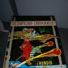 Giornalini: X2. COMIC EL CAPITÁN TRINQUETE. HUNDID AL CANGREJO 1971. Lote 223554235