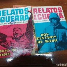 Tebeos: RELATO DE GUERRA - TORAY - ORIGINALES - SUELTOS: 1, 2 (MUY DIFICIL) Y 199 - PROCEDEN DE ENCUADERNACI. Lote 223657902