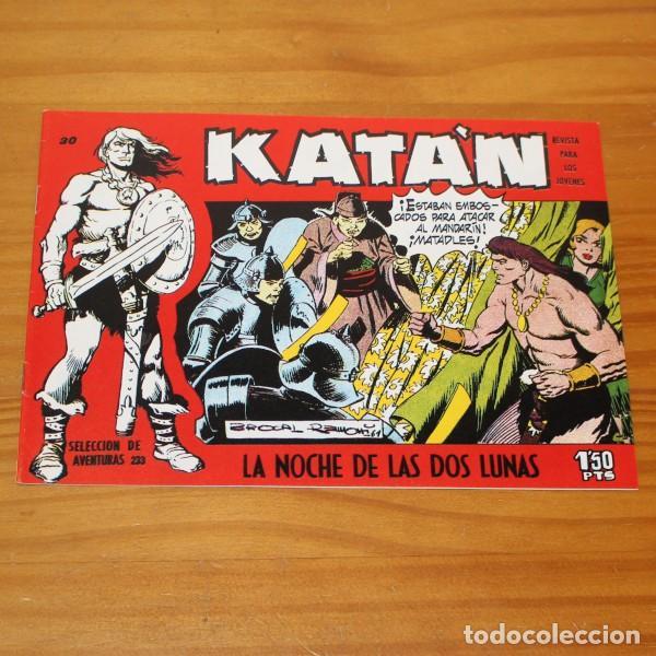 KATAN 30 LA NOCHE DE LAS DOS LUNAS. FACSIMIL (Tebeos y Comics - Toray - Katan)