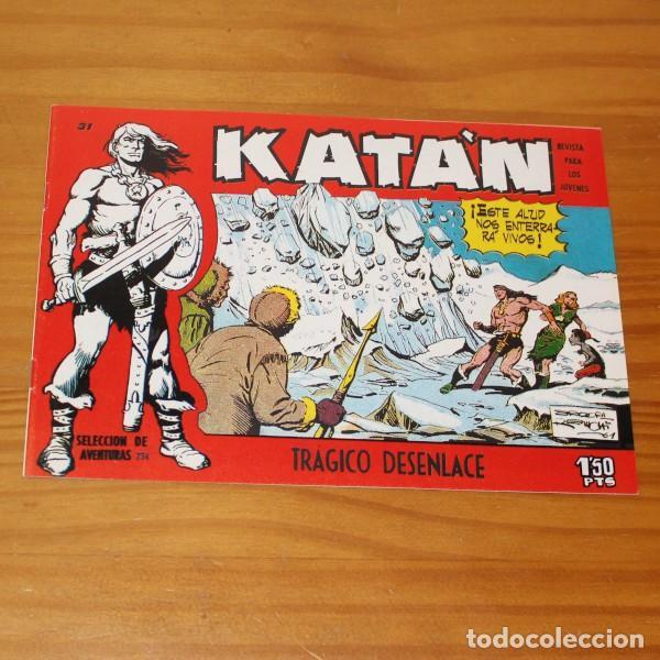 KATAN 31 TRAGICO DESENLACE. FACSIMIL (Tebeos y Comics - Toray - Katan)
