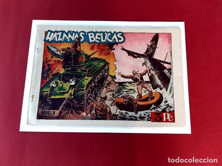 HAZAÑAS BELICAS VOL 1 - 4 EPISODIOS -EDICIONES TORAY (Tebeos y Comics - Toray - Hazañas Bélicas)
