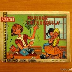 Tebeos: AZUCENA - Nº 1012, MARIONA LA TRANQUILLA - EDICIONES TORAY 1967. Lote 224221723