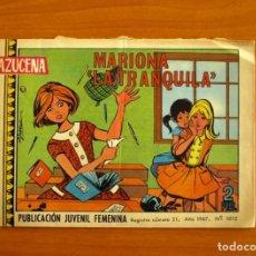 Tebeos: AZUCENA - Nº 1012, MARIONA LA TRANQUILLA - EDICIONES TORAY 1967. Lote 224221892
