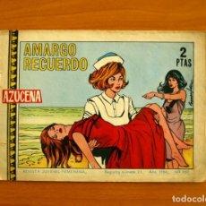 Tebeos: AZUCENA - Nº 957, AMARGO RECUERDO - EDICIONES TORAY 1966. Lote 224222258