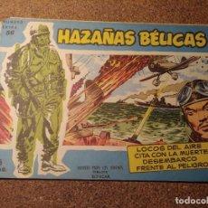 Tebeos: COMIC DE HAZAÑAS BELICAS EN LOCOS DEL AIRE DEL AÑO 1958 Nº 56. Lote 224340033
