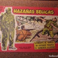 Tebeos: COMIC DE HAZAÑAS BELICAS EN LA MUERTE DE GORILA DEL AÑO 1958 Nº 92. Lote 224343995