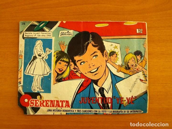 SERENATA - Nº 278, REGISTRO Nº 156, JUVENTUD YE YE.... - EDICIONES TORAY 1965 (Tebeos y Comics - Toray - Otros)
