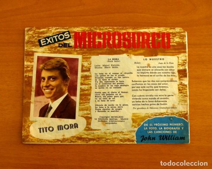 Tebeos: Serenata - Nº 192, Música a todas horas - Tito Mora - Ediciones Toray 1960 - Foto 4 - 224365526