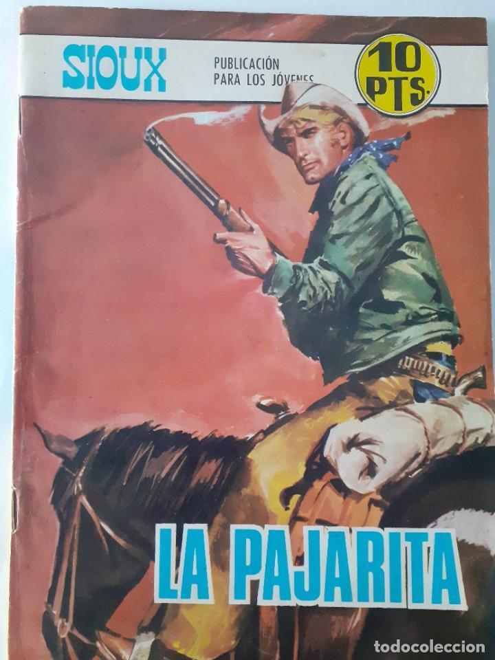 Tebeos: SIOUX - Nº 125 -LA PAJARITA - 1969- GRAN J.Mª. BELLALTA-MUY BUENO-DIFÍCIL- LEAN-3996 - Foto 2 - 224382243