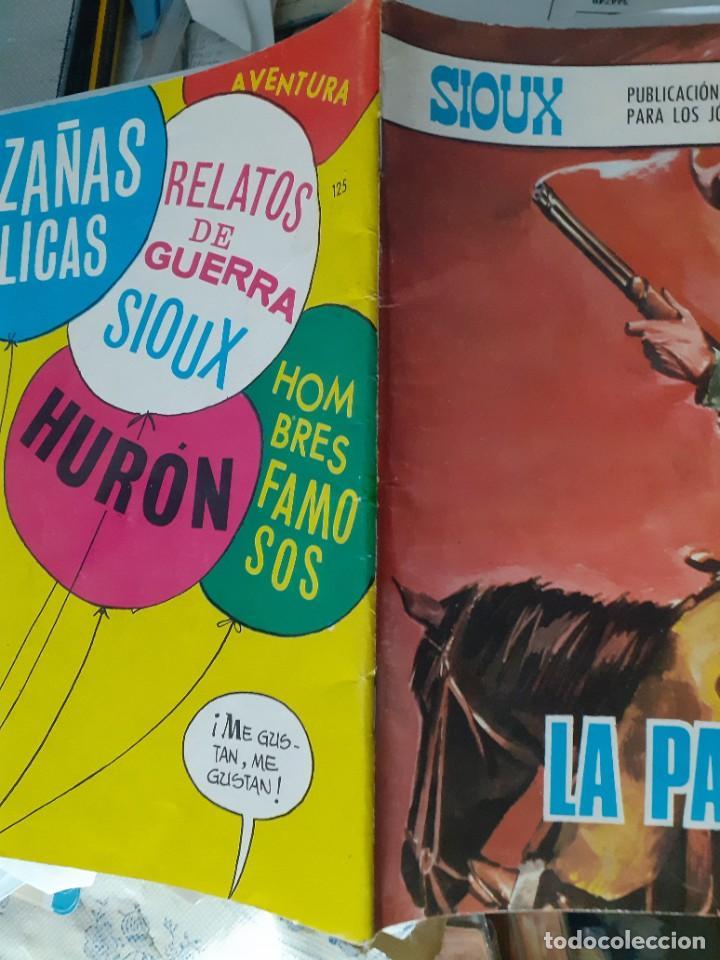 Tebeos: SIOUX - Nº 125 -LA PAJARITA - 1969- GRAN J.Mª. BELLALTA-MUY BUENO-DIFÍCIL- LEAN-3996 - Foto 3 - 224382243