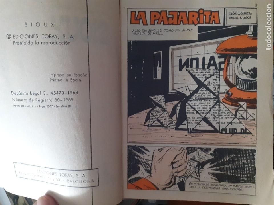 Tebeos: SIOUX - Nº 125 -LA PAJARITA - 1969- GRAN J.Mª. BELLALTA-MUY BUENO-DIFÍCIL- LEAN-3996 - Foto 5 - 224382243