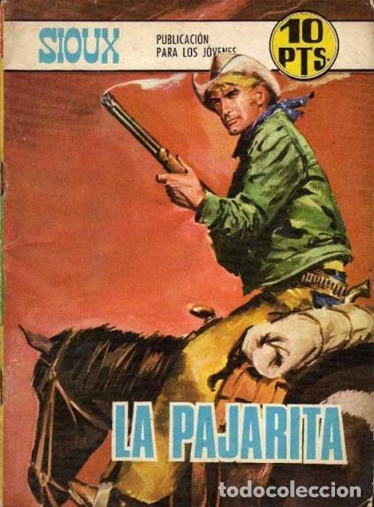 SIOUX - Nº 125 -LA PAJARITA - 1969- GRAN J.Mª. BELLALTA-MUY BUENO-DIFÍCIL- LEAN-3996 (Tebeos y Comics - Toray - Sioux)
