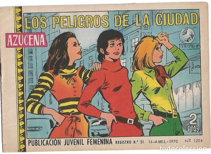 AZUCENA Nº 1204 TORAY 1954 ORIGINAL DE LOS ULTIMOS- IMPORTANTE LEER Y VER FOTOS (Tebeos y Comics - Toray - Otros)