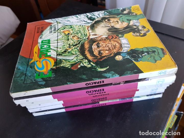 LOTE 7 TEBEOS / CÓMIC ESPACIO N⁰ 1-2-3-4-5-6-8 ORIGINAL TORAY 1982 CASI COMPLETA (Tebeos y Comics - Toray - Otros)