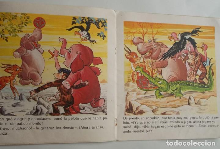 Tebeos: El hipopótamo triste Colección Diadema nº6 Ediciones Toray S.A. 1975 - Foto 2 - 224565835