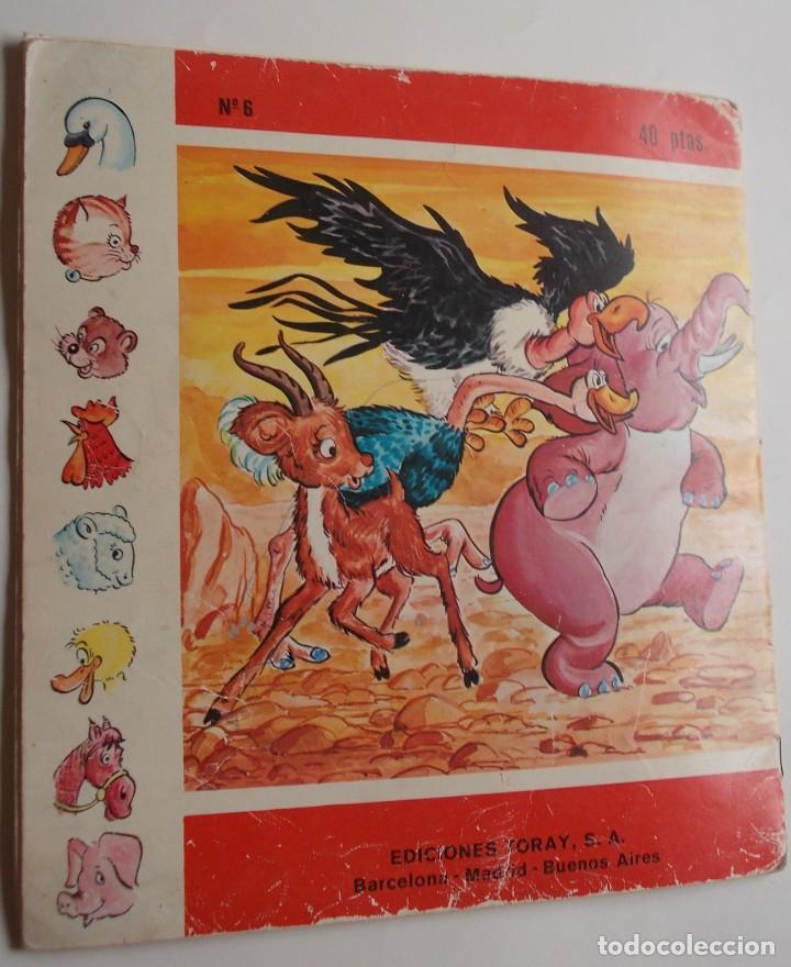 Tebeos: El hipopótamo triste Colección Diadema nº6 Ediciones Toray S.A. 1975 - Foto 3 - 224565835