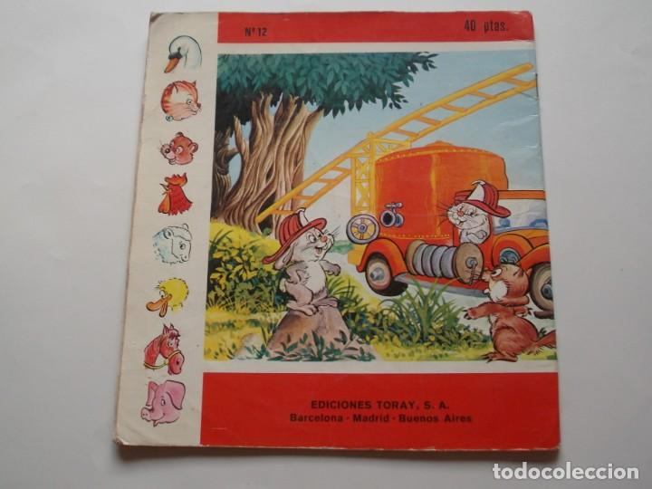 Tebeos: El Osito Bombero Colección Diadema nº12 Ediciones Toray S.A. 1975 - Foto 2 - 224566336