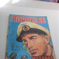 Tebeos: HAZAÑAS BÉLICAS. TORPEDO. 1964 (EN ESTADO NORMAL). Lote 224630710