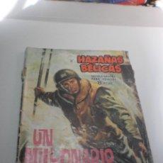 Tebeos: HAZAÑAS BÉLICAS. UN MILLONARIO EN LA GUERRA 1964 (ALGÚN DEFECTO). Lote 224633086
