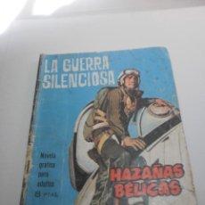 Tebeos: HAZAÑAS BÉLICAS. LA GUERRA SILENCIOSA 1964 (ESTADO NORMAL, LEER). Lote 224635416