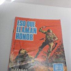 Tebeos: HAZAÑAS BÉLICAS. ESO QUE LLAMAN HONOR 1966 (ESTADO NORMAL). Lote 224636722
