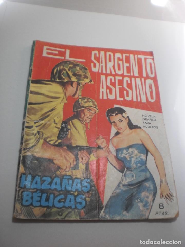 HAZAÑAS BÉLICAS. EL SARGENTO ASESINO 1964 (ESTADO NORMAL) (Tebeos y Comics - Toray - Hazañas Bélicas)