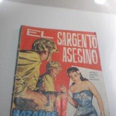 Tebeos: HAZAÑAS BÉLICAS. EL SARGENTO ASESINO 1964 (ESTADO NORMAL). Lote 224637066