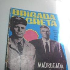 Tebeos: BRIGADA SECRETA. MADRUGADA TRÁGICA. 1964 (BUEN ESTADO CON LEVES DESGASTES). Lote 224652170