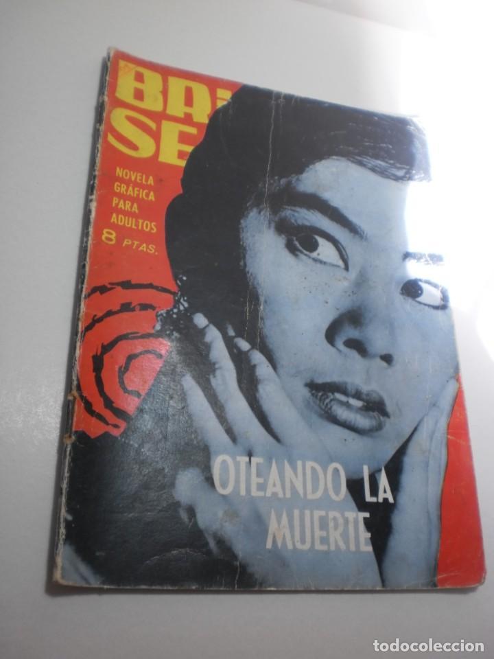 BRIGADA SECRETA. OTEANDO LA MUERTE 1964 (ESTADO NORMAL, LEER) (Tebeos y Comics - Toray - Brigada Secreta)