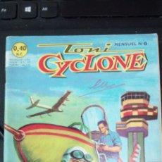 Tebeos: TONI CYCLONE Nº 8 CON HISTORIA JOHNNY COMANDO DE TORAY Y CON 66 PAGINAS EDITADO FRANCIA AÑO 1962. Lote 224677248