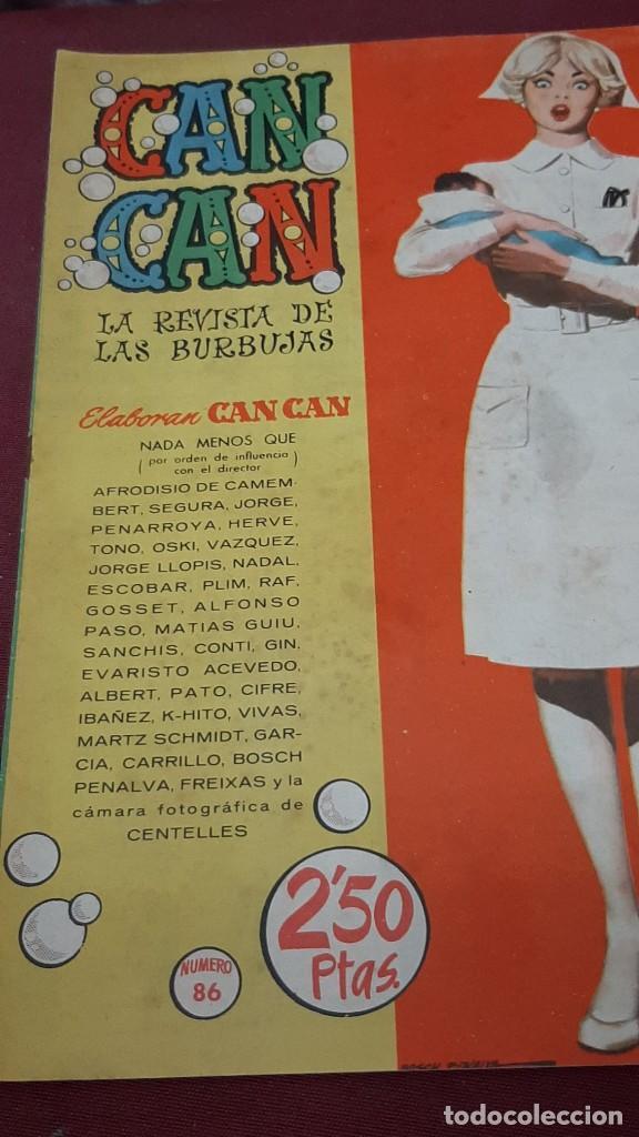 Tebeos: LOTE 2 NUMEROS DE CAN CAN...1959 - Foto 2 - 225073153