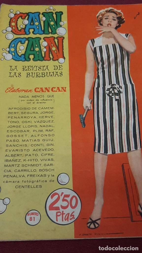 Tebeos: LOTE 2 NUMEROS DE CAN CAN...1959 - Foto 3 - 225073153
