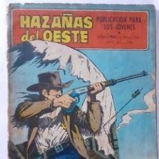 Tebeos: HAZAÑAS DEL OESTE-NOVELA GRÁFICA- Nº 156 -ALDOMÁ PUIG-JOSÉ DUARTE-1968-CORRECTO-DIFÍCIL-LEA-4029. Lote 225195447