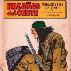 Tebeos: HAZAÑAS DEL OESTE-NOVELA GRÁFICA- Nº 164 -CÉSAR LÓPEZ-BELLALTA.A.MÁS-1968-BUENO-DIFÍCIL-LEA-4030. Lote 225196605