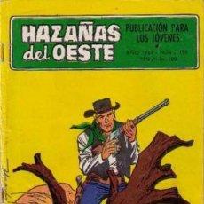 Tebeos: HAZAÑAS DEL OESTE-NOVELA GRÁFICA- Nº 196 -ALDOMÁ-A. PÉREZ-1969-BUENO-DIFÍCIL-LEAN-4033. Lote 225200796