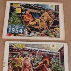 Livros de Banda Desenhada: RESERVADO ------------------------ HAZAÑAS BELICAS ALMANAQUE 1955. Lote 276470678