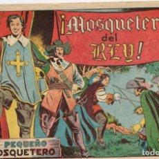 Tebeos: EL PEQUEÑO MOSQUETERO Nº 3 ¡¡¡ SIN ABRIR!!! - EDIT. TORAY 1951. Lote 225850727
