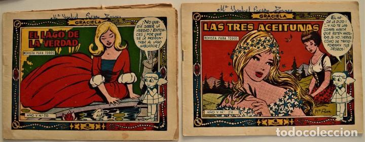 Tebeos: LOTE 15 CUENTOS COLECCIÓN GRACIELA - EDICIONES TORAY - VER RELACIÓN DE NÚMEROS - Foto 4 - 225868631