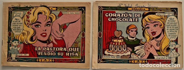Tebeos: LOTE 15 CUENTOS COLECCIÓN GRACIELA - EDICIONES TORAY - VER RELACIÓN DE NÚMEROS - Foto 7 - 225868631