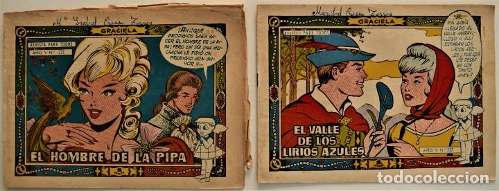 Tebeos: LOTE 15 CUENTOS COLECCIÓN GRACIELA - EDICIONES TORAY - VER RELACIÓN DE NÚMEROS - Foto 8 - 225868631